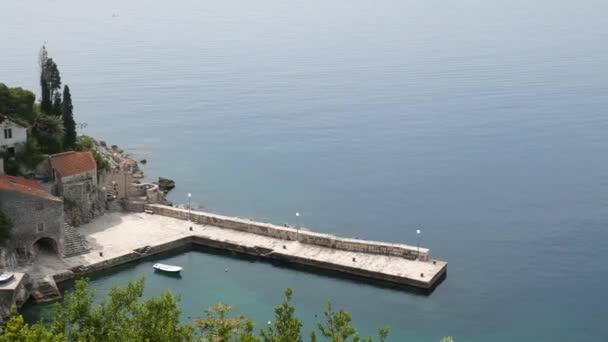 Ukotvení lodí a přístup k moři Botanické zahrady, Arboretum Trsteno, Chorvatsko. Film umístění hra trůnů