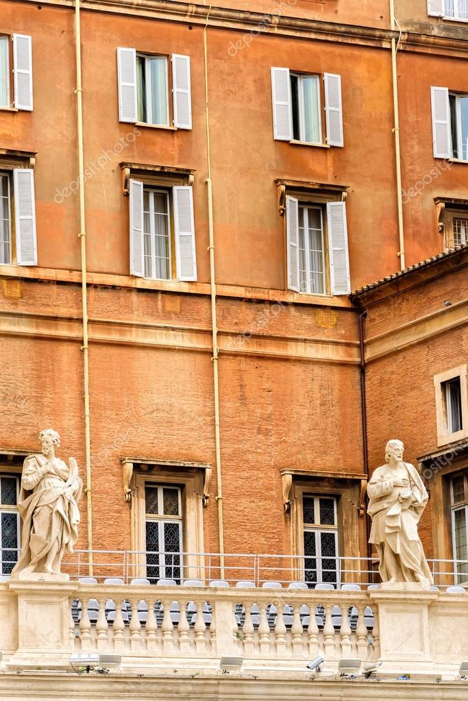 The Apostolic Palace In Vatican City