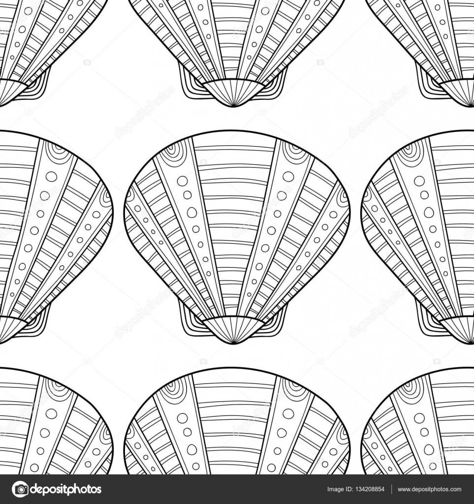 9 Muscheln Zum Ausmalen - Besten Bilder von ausmalbilder