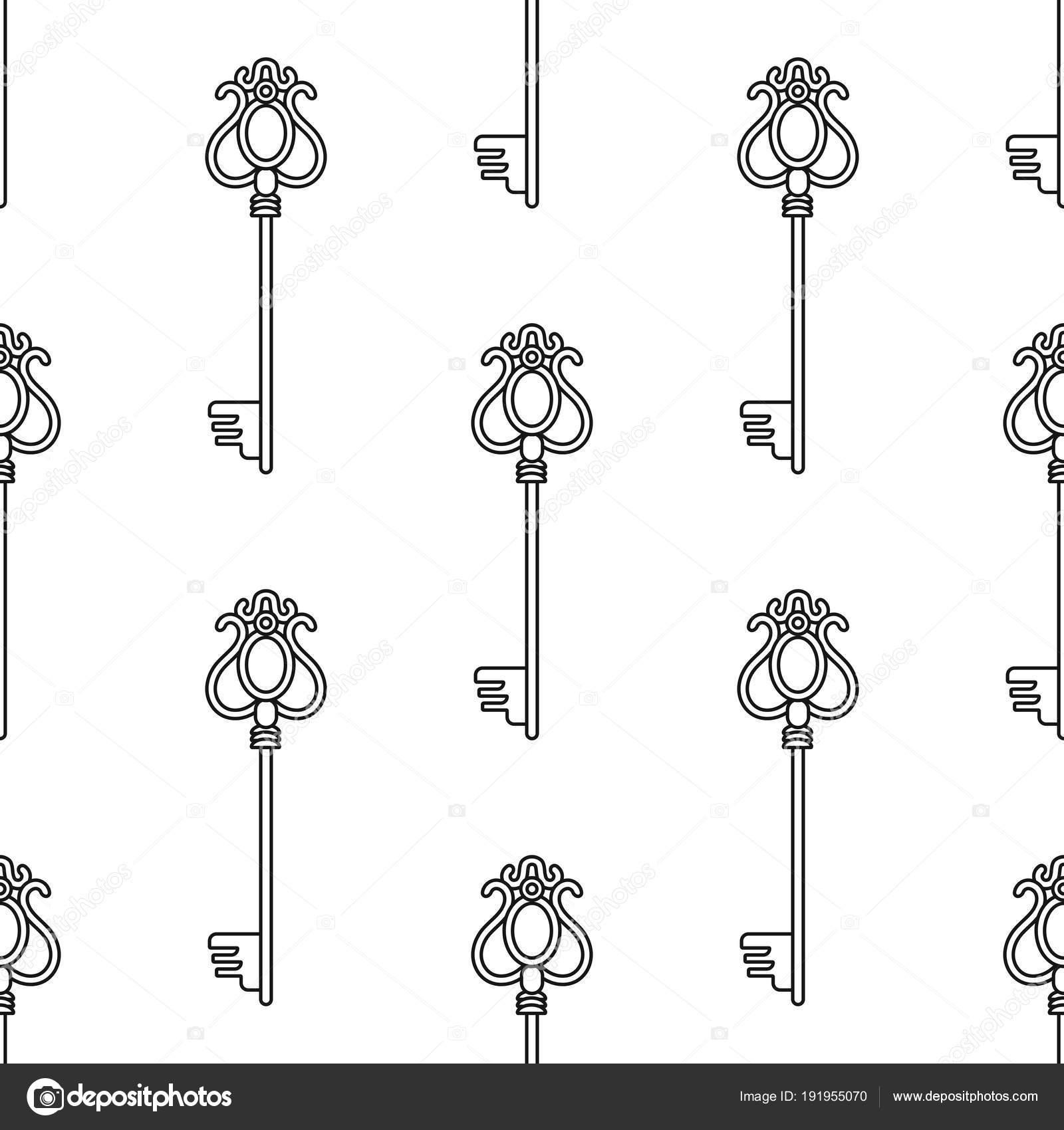 Botones vintage. Blanco y negro de patrones sin fisuras para libros ...