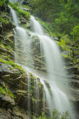 aterfall in the spanish national park Ordesa and Monte Perdido,