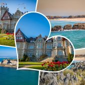 Collage of Cantabria Spain.