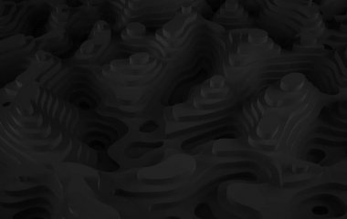 abstract black relief background, texture for copy space