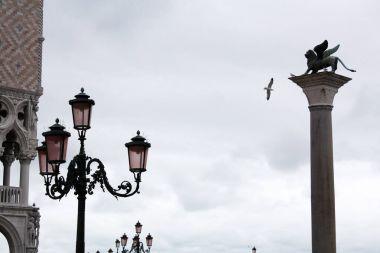 """Картина, постер, плакат, фотообои """"площадь марка в венеции """", артикул 183570366"""