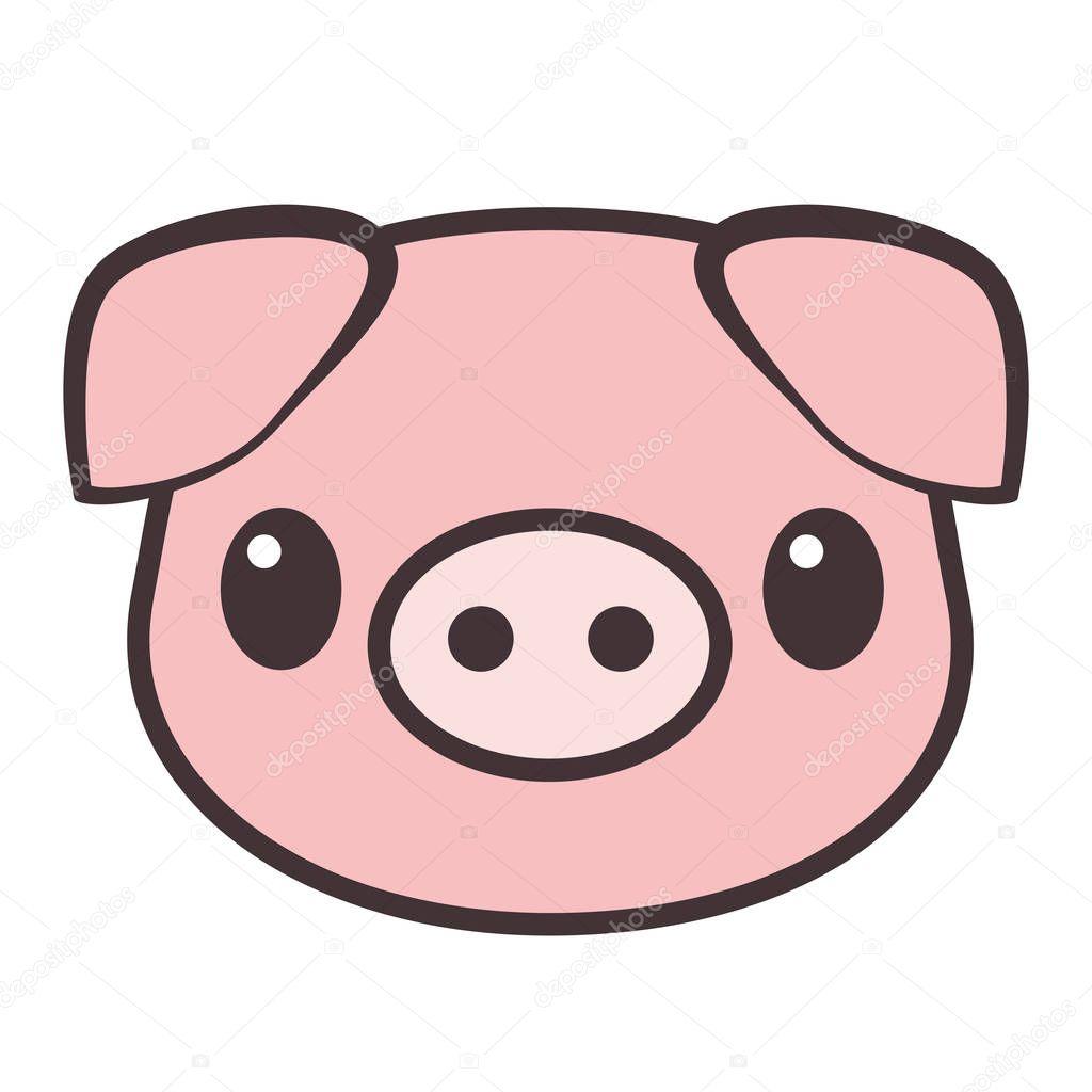 El4anes 185182788 - Tete de cochon a colorier ...