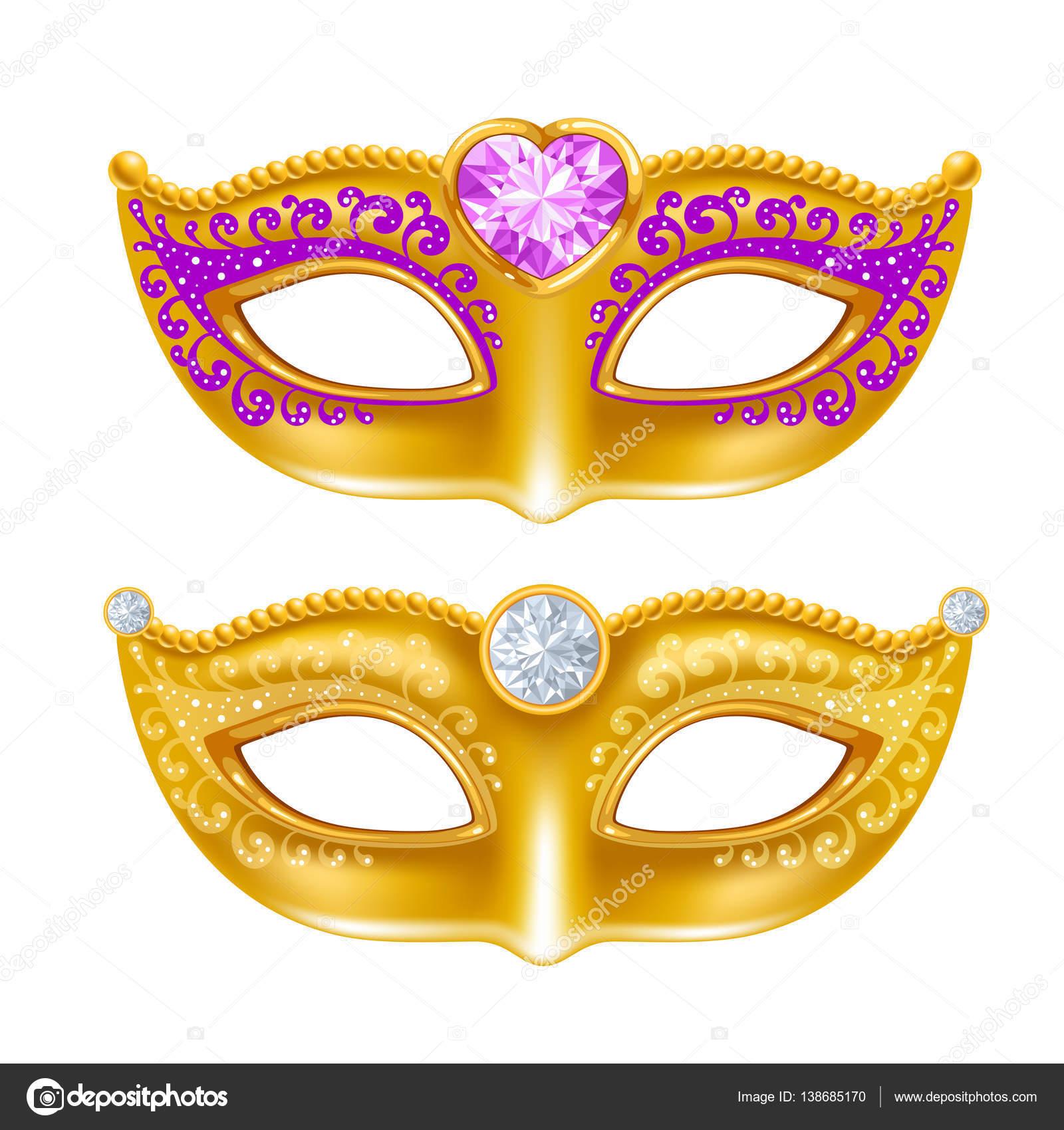 Mardi Gras Karneval Maske Stockvektor C Pazhyna 138685170