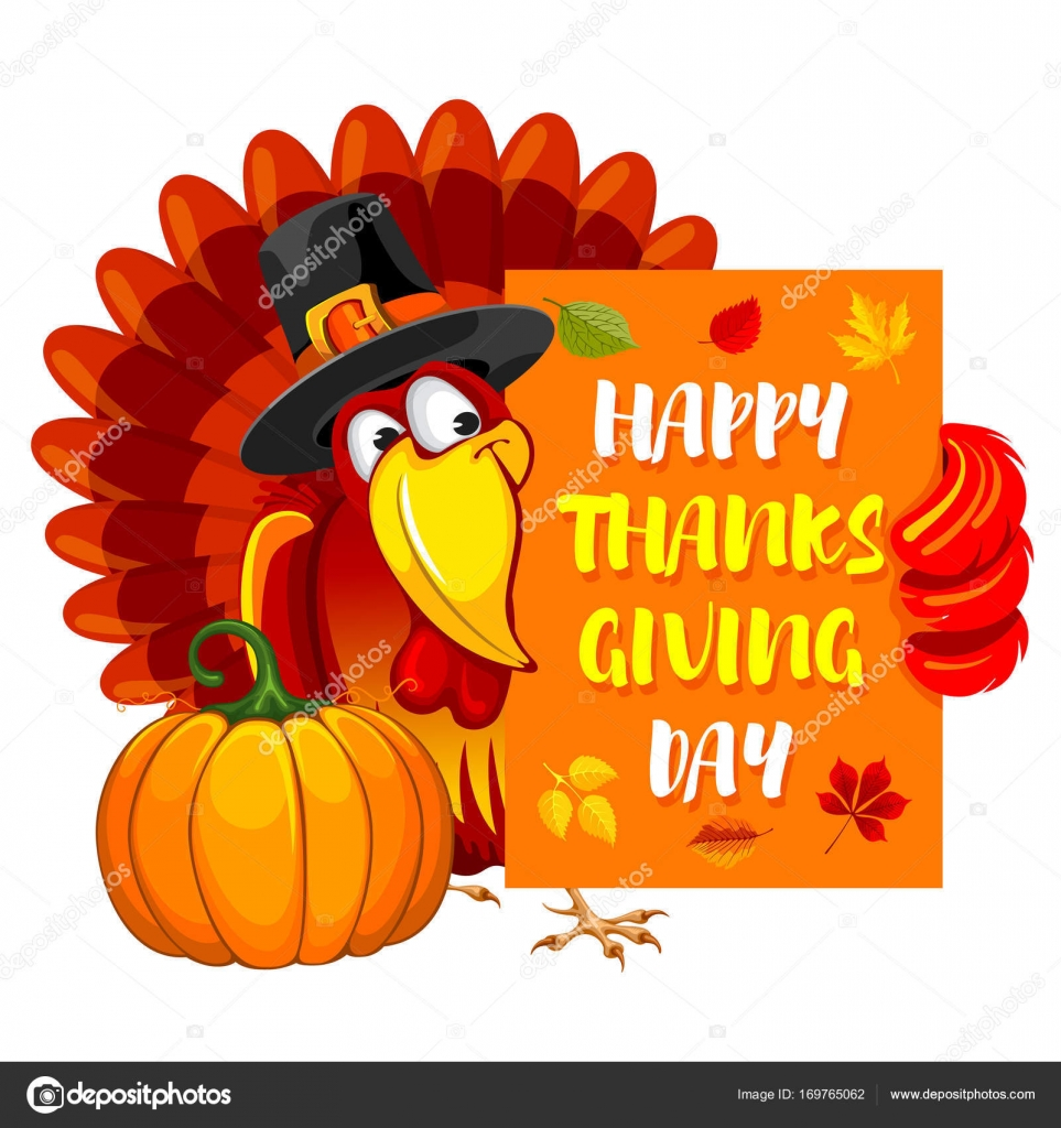 Thanksgiving Day Greeting Stock Vector Pazhyna 169765062