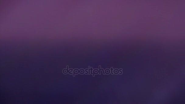 Lehký únik v objektivu, fialová barva použití jako pozadí