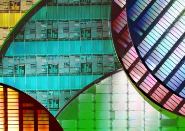 Electronics - Silicon Wafers and Microcircuits
