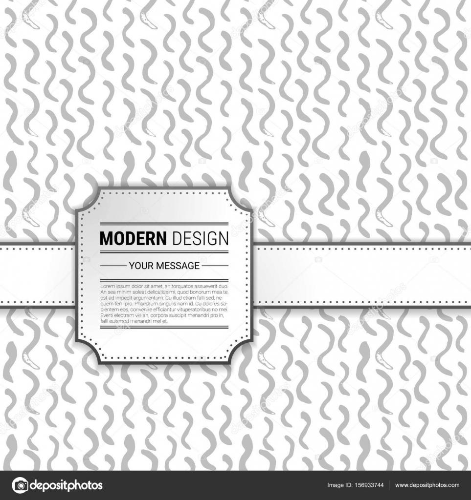 Handgemalte Hintergrund mit Vintage-Rahmen. Vektor-Illustration ...