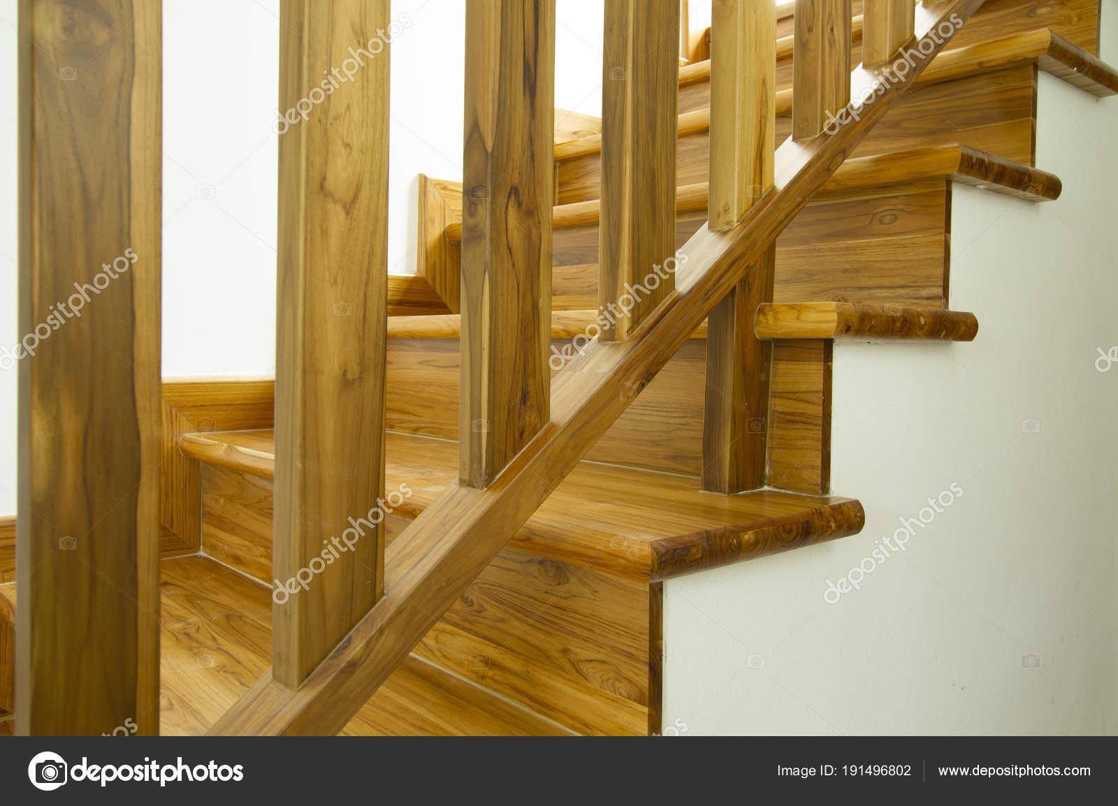 Escaliers Bois Style Moderne Design Intérieur — Photographie ...