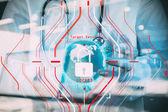 Fotografie Datenschutzgrundverordnung (DSGVO) und Sicherheitskonzept. C