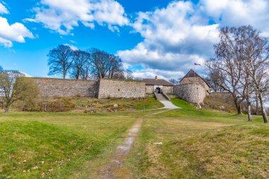 Kongsten fortress in Norwegian city Fredrikstad