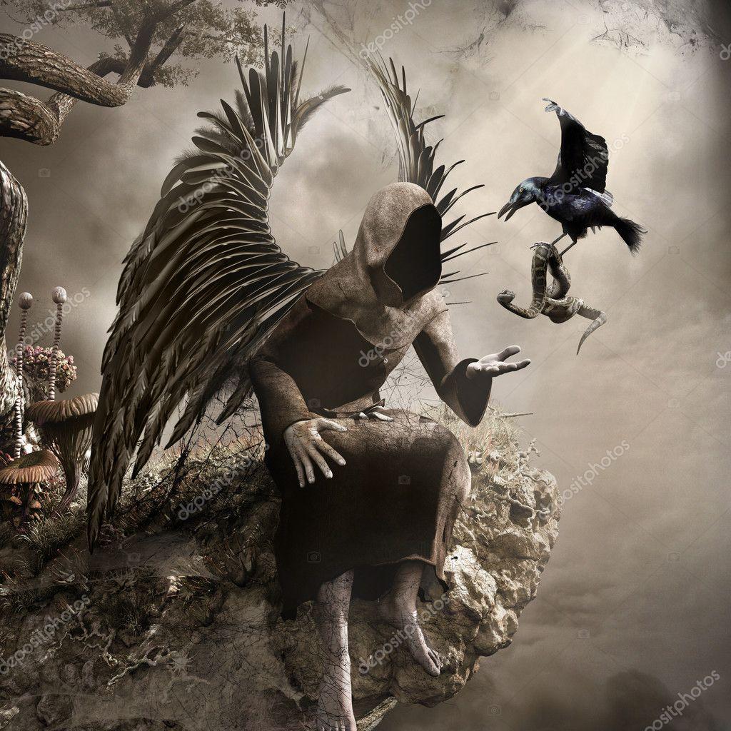 темный ангел картинки