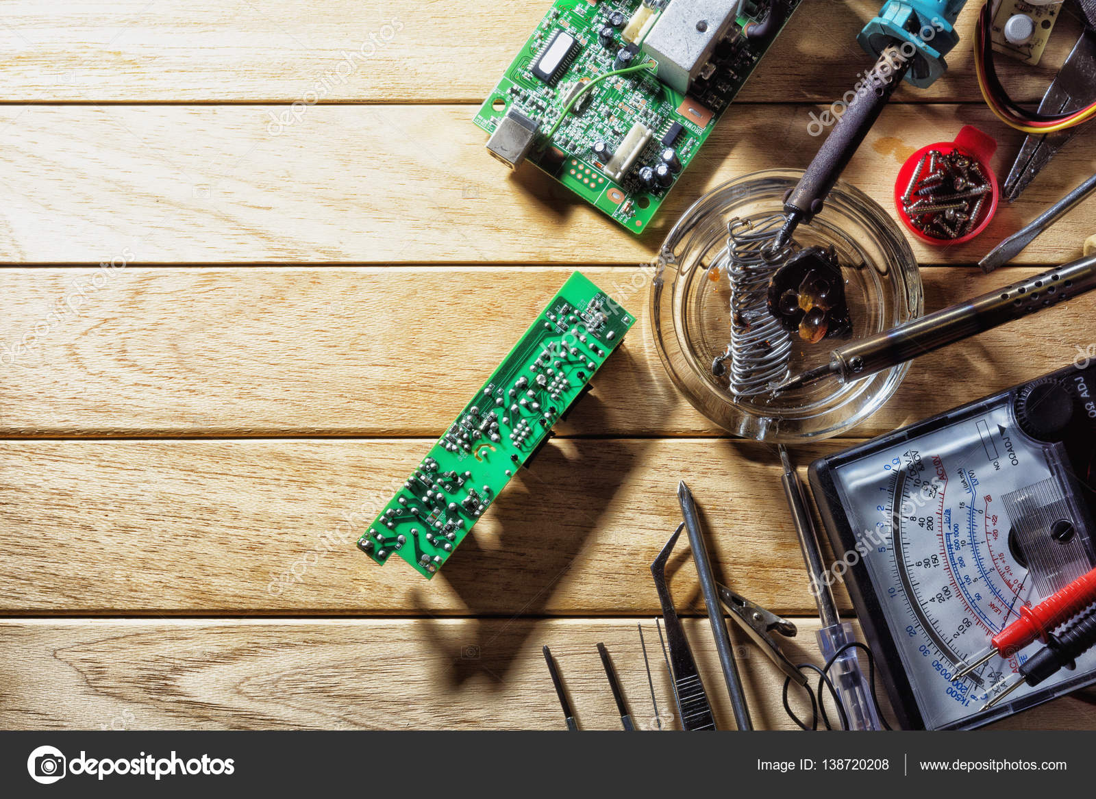 Equipment For Soldering Electronic Circuit Boards Stock Photo What Solder To Use