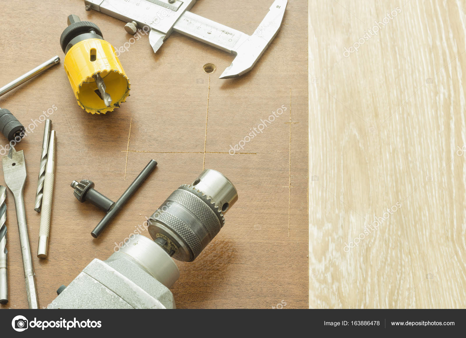 Tools For Drilling Holes In Wood And Metal Stock Photo C Bodu10