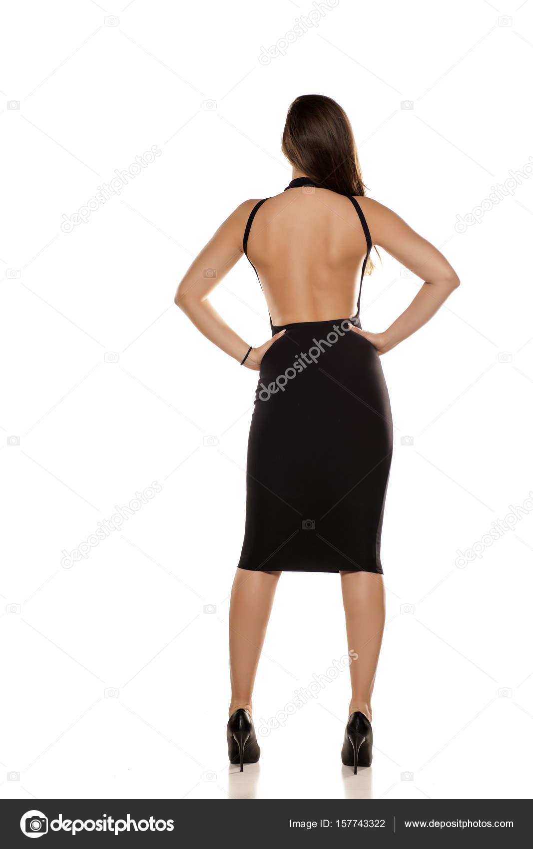 e4be34f7ffb0 γυναίκα στο μαύρο φόρεμα — Φωτογραφία Αρχείου © VGeorgiev  157743322
