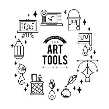 Art tools icon