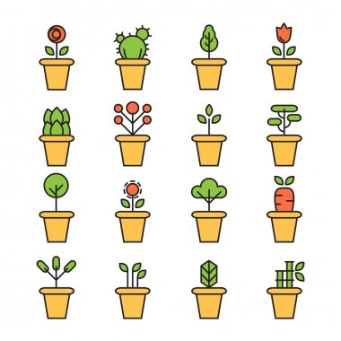 design of Plant icon