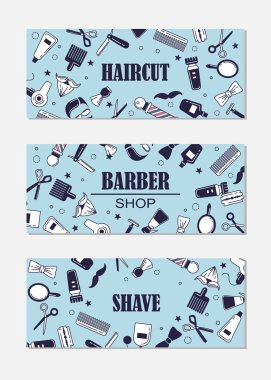 barber shop banner templates
