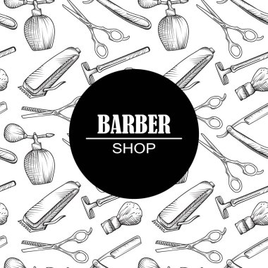 icons for barber shop