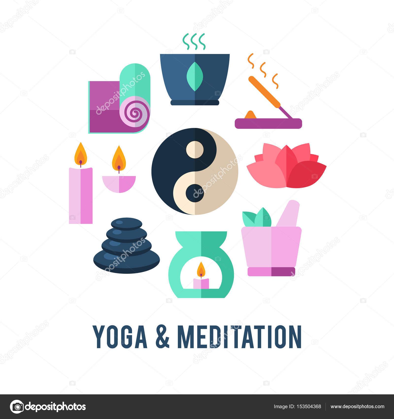 Plantilla de logotipo de yoga — Vector de stock © vextok #153504368