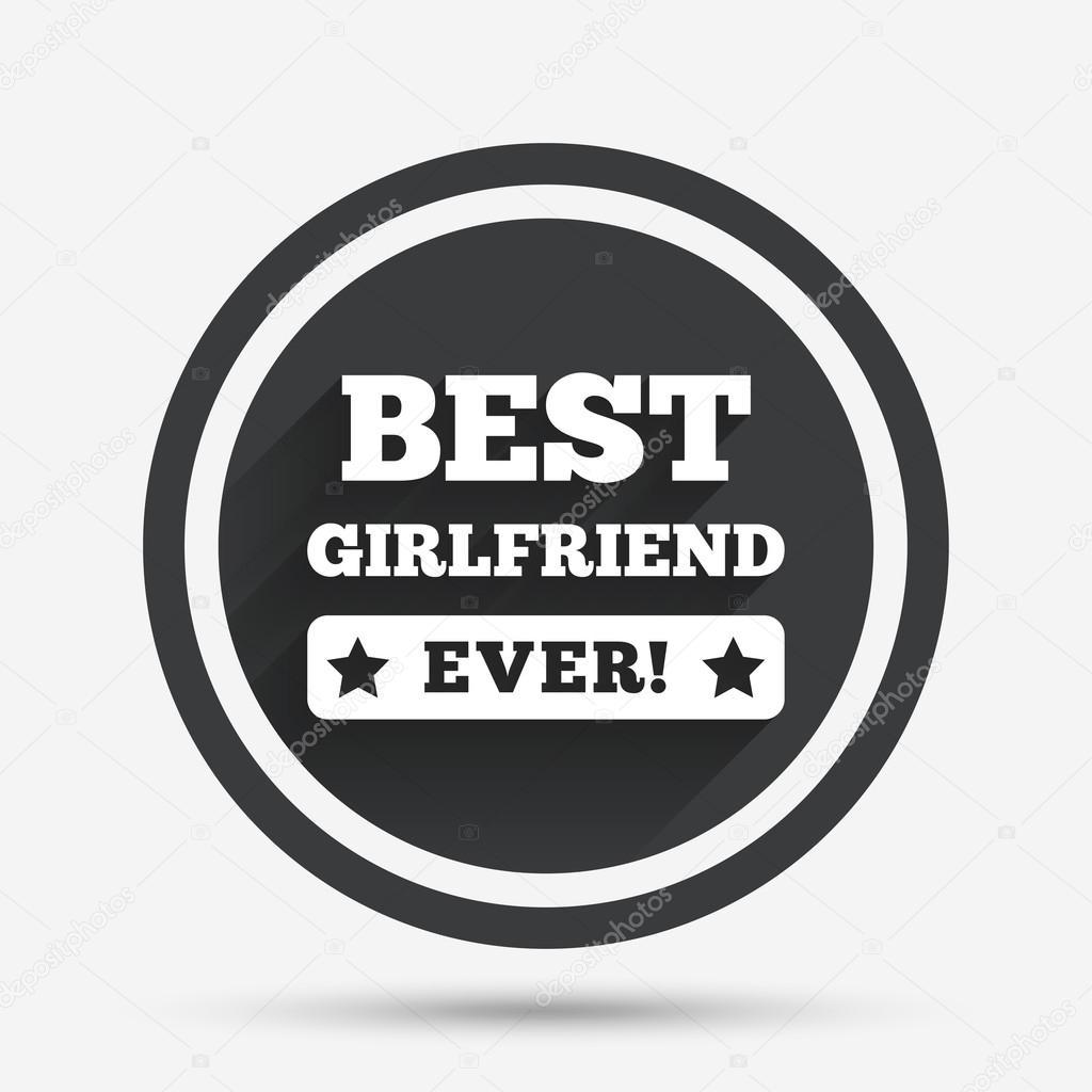 Beste Freundin immer Zeichen Symbol — Stockvektor © Blankstock ...