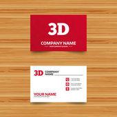 Fotografie Business card template
