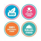 bio potraviny ikony