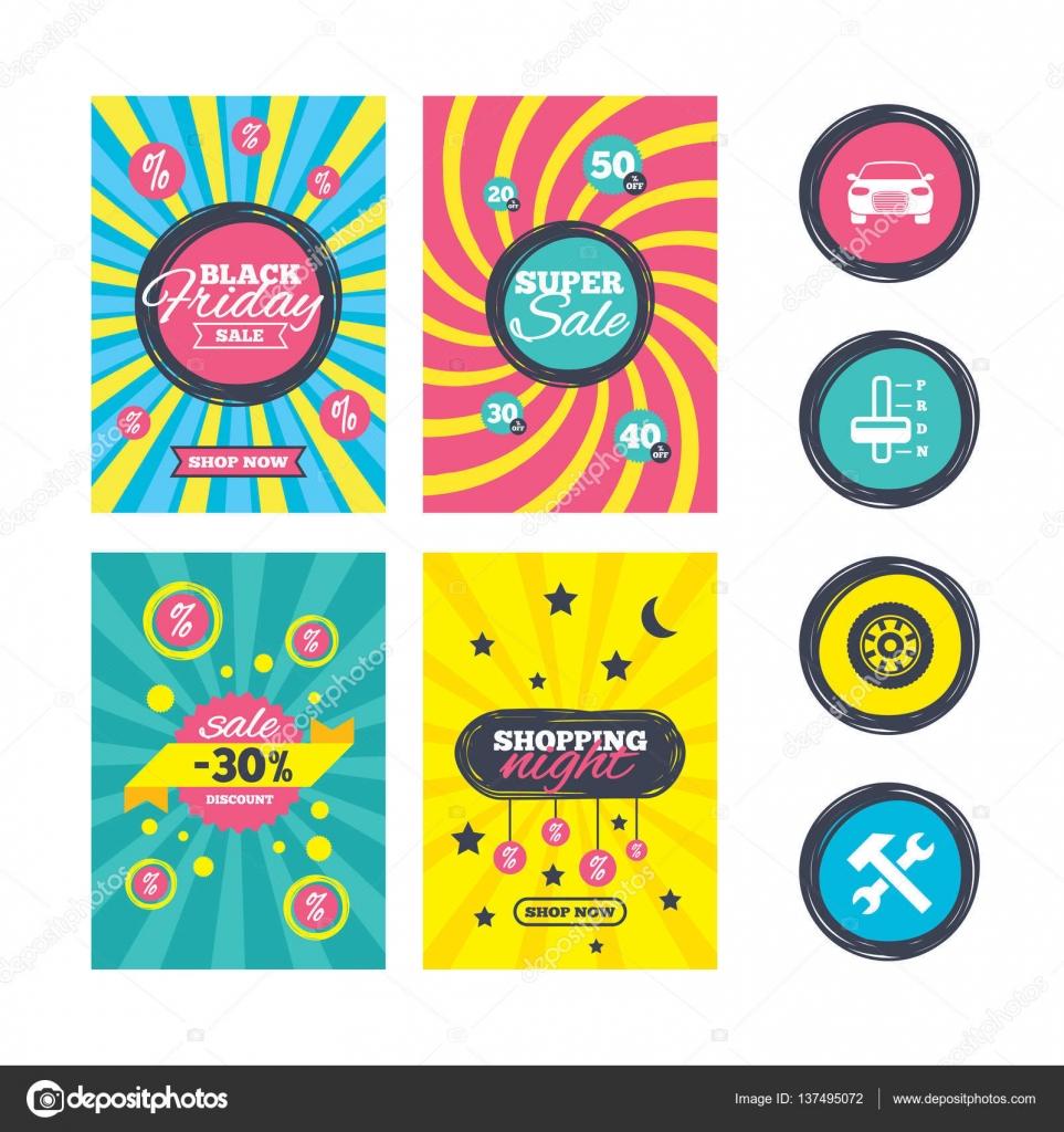 Plantillas de venta web banner — Vector de stock © Blankstock #137495072