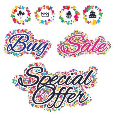 Sale web icons