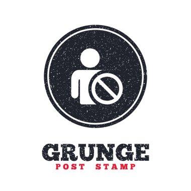 Grunge post stamp