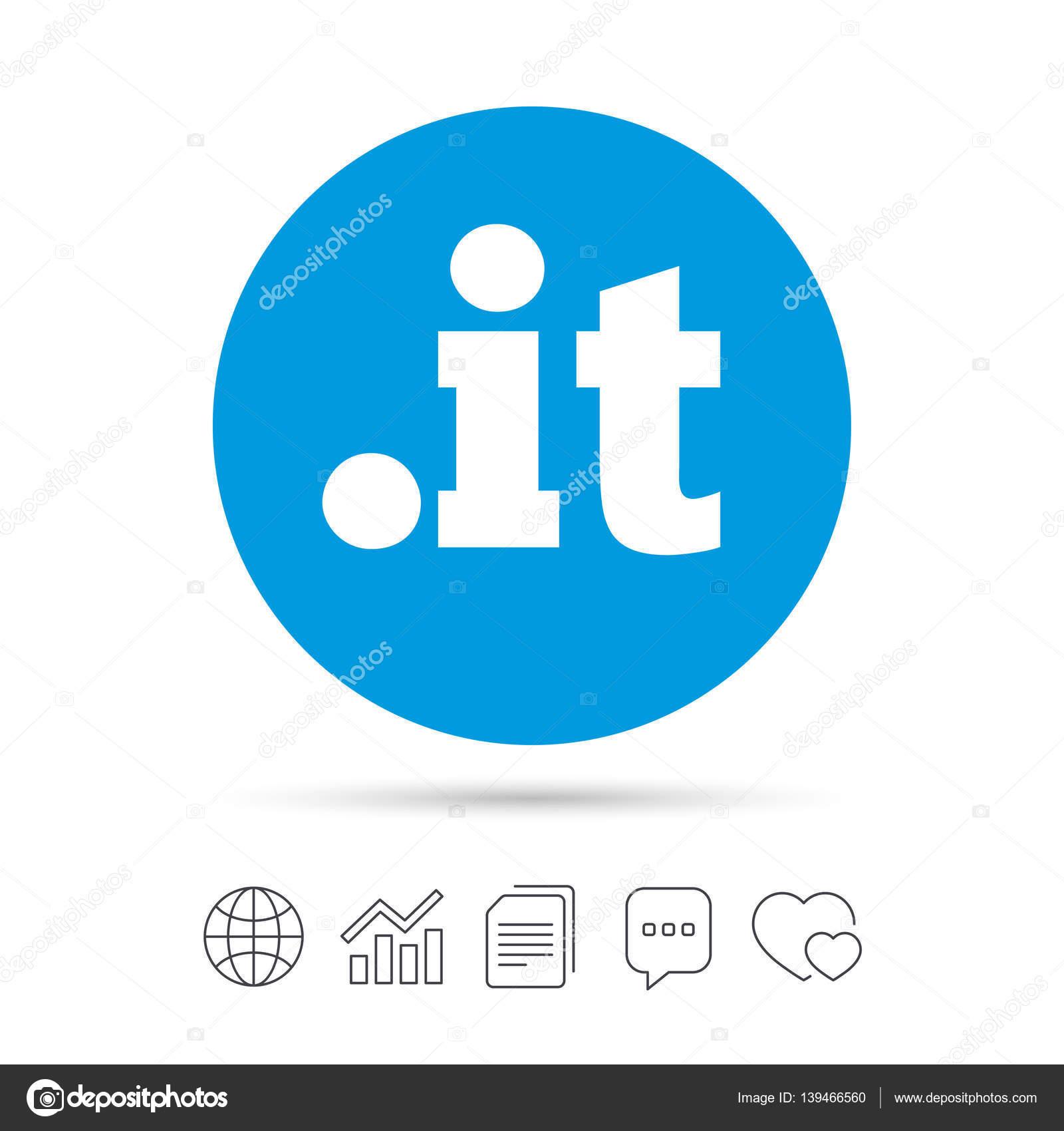 Domäne Symbol Unterschreiben Internet Domäne Der Obersten Ebene