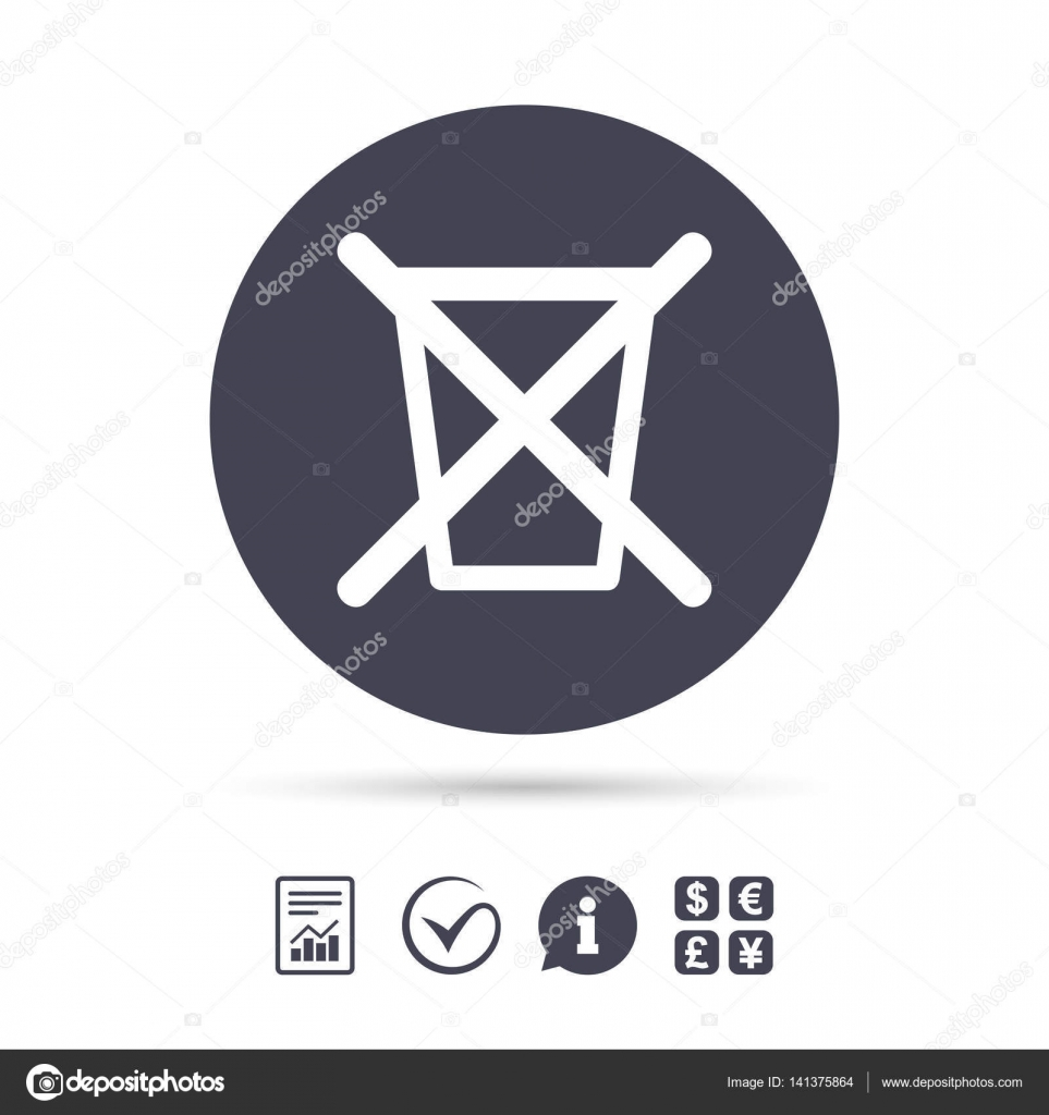 Recycle Bin Sign Icon Stock Vector Blankstock 141375864