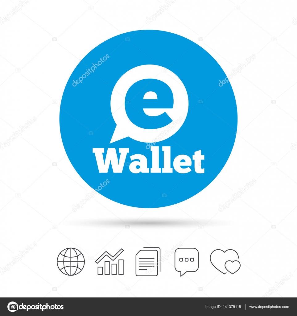 Elektronische Geldbörse symbol — Stockvektor © Blankstock #141379118