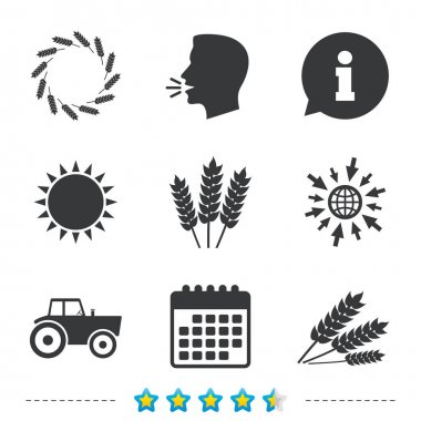 Black agricultural icons