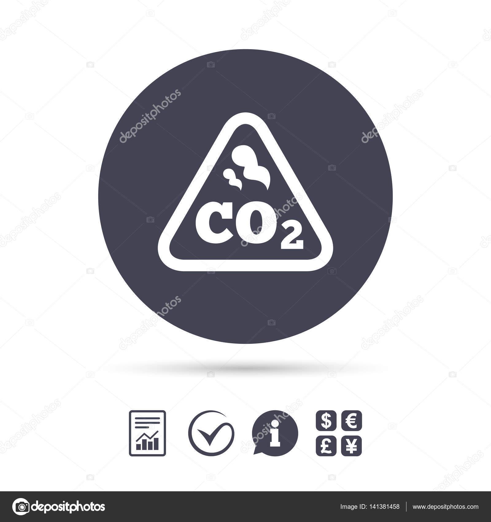 Co2 carbon dioxide formula icon stock vector blankstock 141381458 co2 carbon dioxide formula sign icon chemistry symbol vector vector by blankstock buycottarizona Images