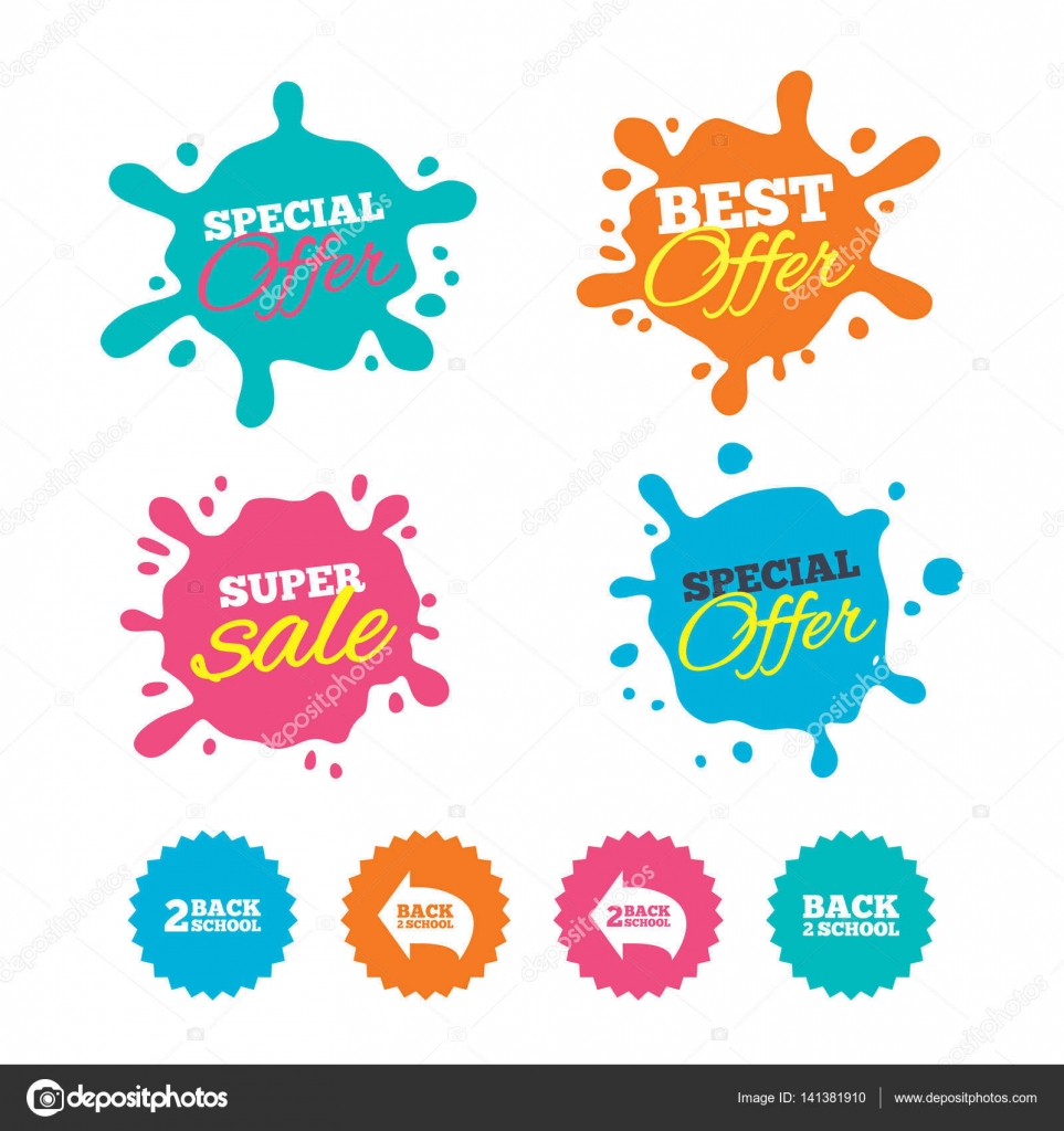 Nejlepší nabídku a prodej splash bannery. Zpátky do školy ikony. Webu  nakupování popisky. 797f5640b6
