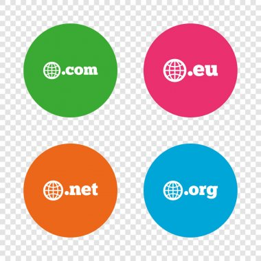 Round buttons icons