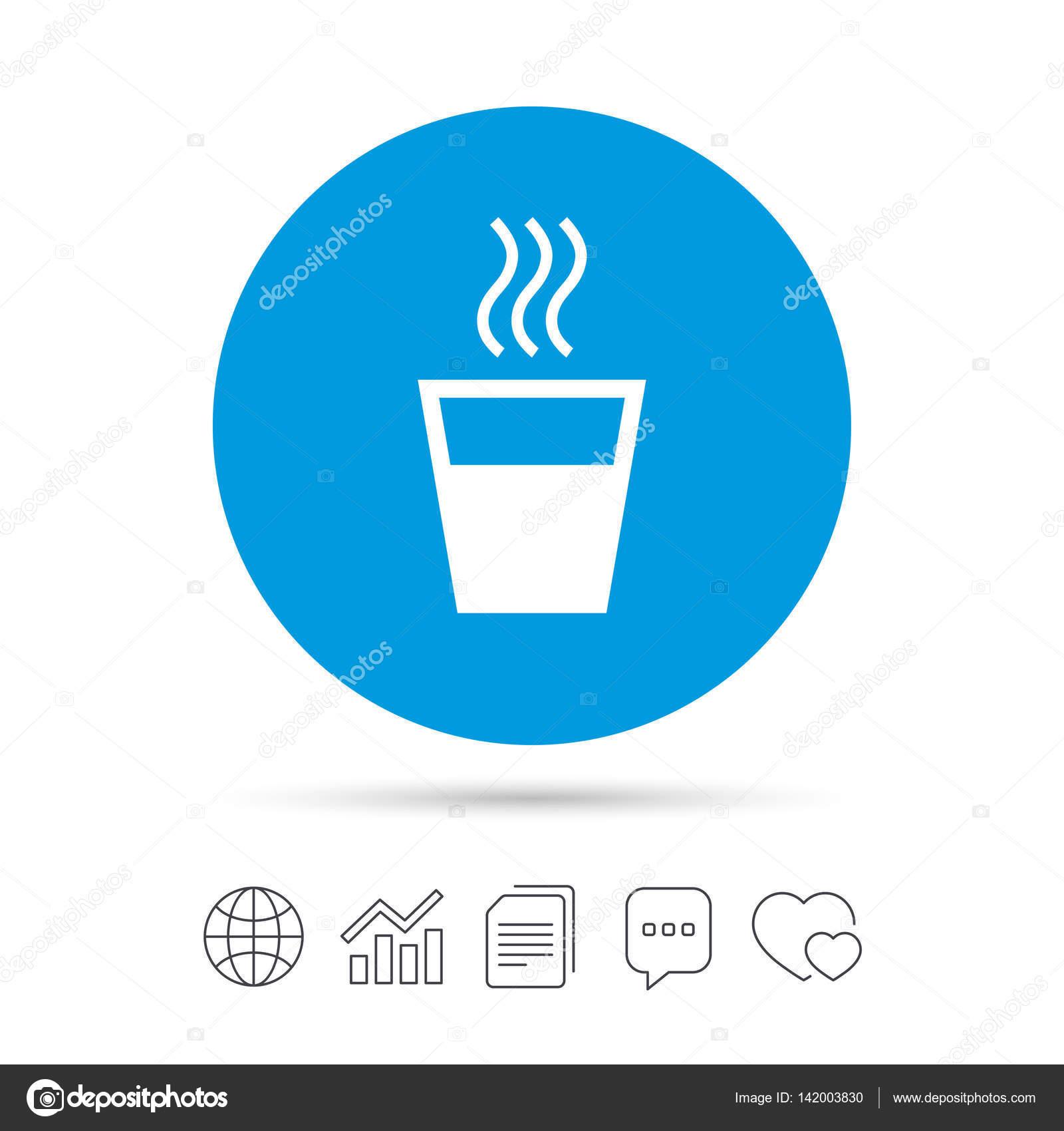 Warmwasser-Zeichen-Symbol — Stockvektor © Blankstock #142003830