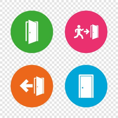 Doors icons set