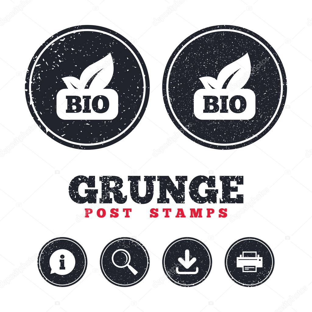 Bio product sign