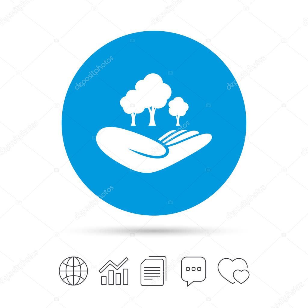 Save forest icon