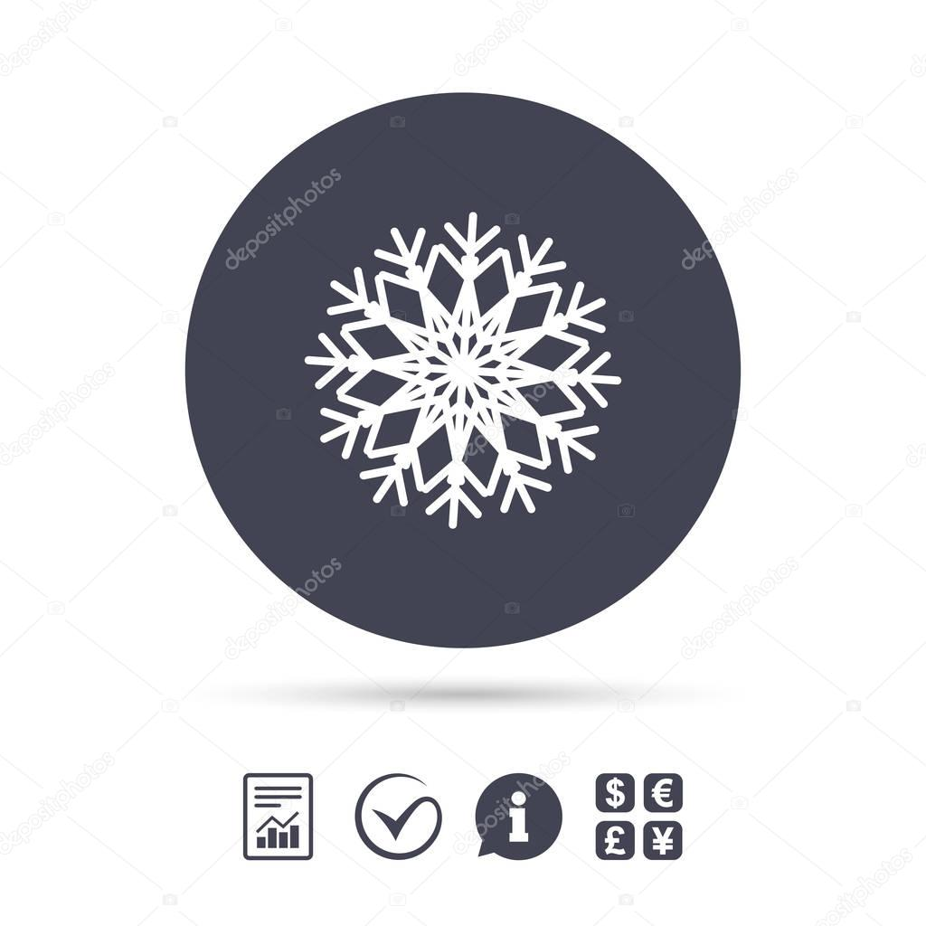 Snowflake artistic sign