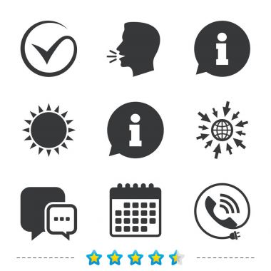 Check or Tick icons set