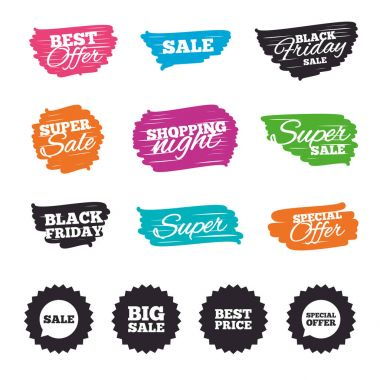 Ink brush sale banners