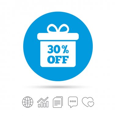 30 percent sale icon