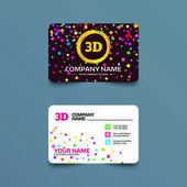 Fotografie Business card template