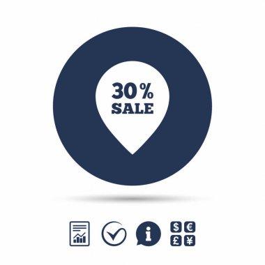 30 percent sale icon
