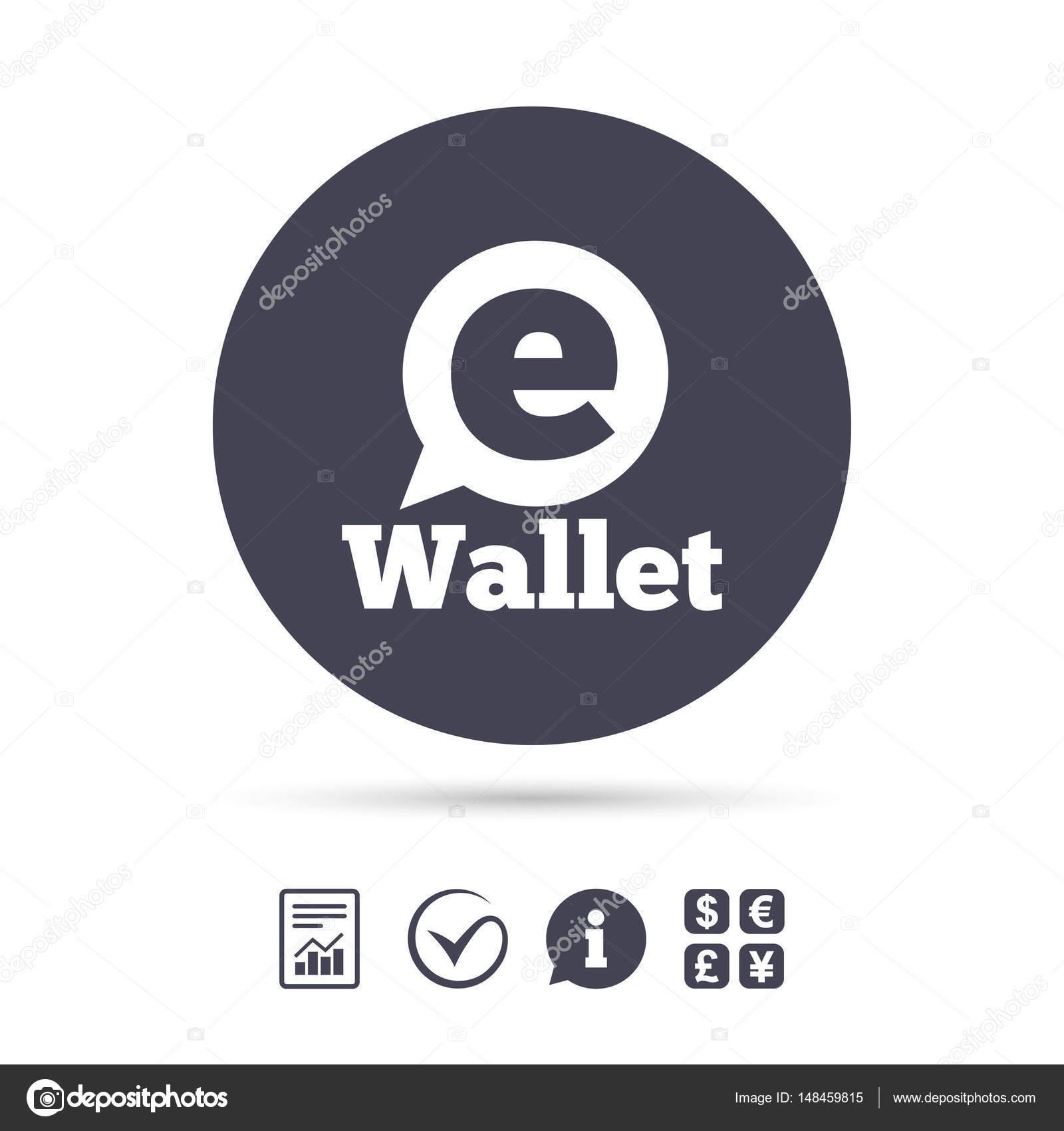 Elektronische Geldbörse symbol — Stockvektor © Blankstock #148459815